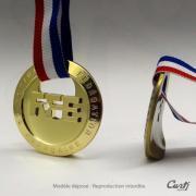 Médaille personnalisée à Paris et en Ile-de-France
