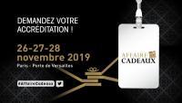 Présence au salon Affaire de Cadeaux à Paris Porte de Versailles
