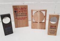 Nouvelle gamme de trophées en bois Curti Design