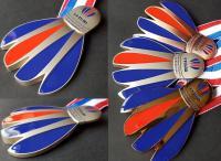 Présentation des nouvelles médailles de la FFBAD réalisées par nos soins et dévoilées lors des championnats de France