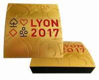 Création des trophées pour les championnats du monde de Bridge 2017 organisés à Lyon