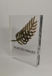 Trophée original Curti Design Paris : La palme des Vinalies