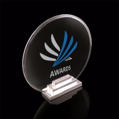 Trophée Podium Plexiglas et métal